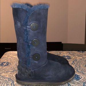 UGG Bailey Button Triplet II Shearling Boot